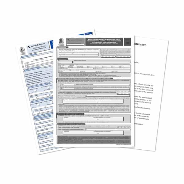 Documents required to apply for the Beckham Law