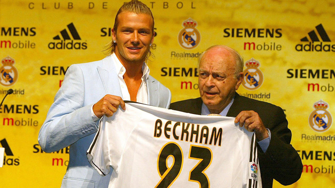David Beckham, by whose surname the special expats tax regime is known